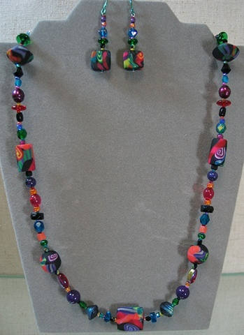 EXAMPLE OF SHORT BEAD STRAND COMPLETED
