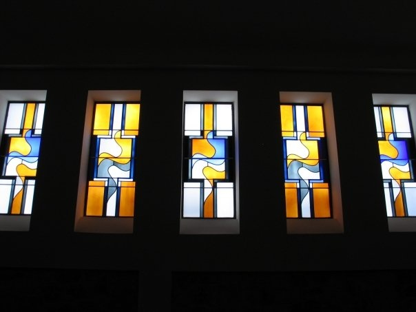 SIDE WINDOWS AT THE EPISCOPAL CHURCH OF THE EPIPHANY HOUSTON