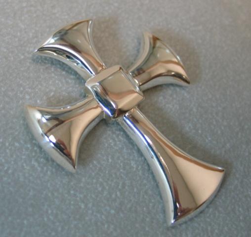 sterling silver Alard cross © Nancy Denmark