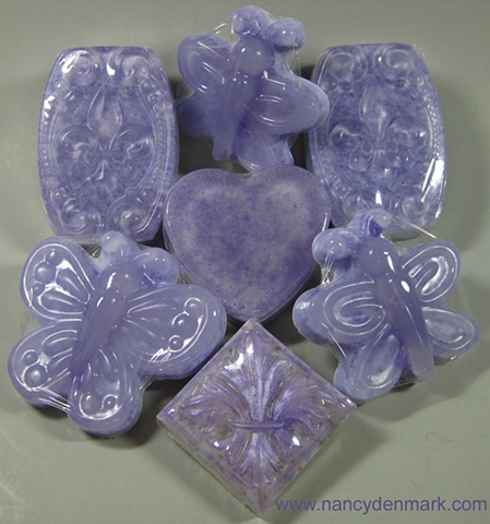 ASSORTED SHAPES AVAILABLE IN LAVENDER VANILLA SCENT