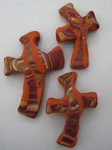 hand crosses