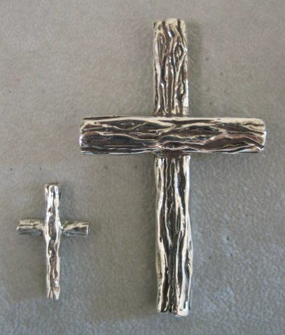 sterling silver tree crosses © Nancy Denmark