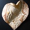 GOLD ANGEL HAND HELD HEART