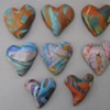 8 PAINTERLY HAND HEARTS MADE TO ORDER