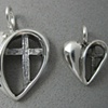 H5 & H6 OPEN HEART WITH CROSS 2 SIZES