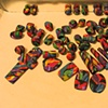 BEADS READY FOR SORTING