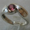 PINK TOURMALINE IN STERLING VIEW 2
