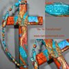 BE YE TRANSFORMED COLLAGE CROSS