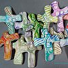 SEASHELL HAND CROSSES