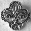 QUATREFOIL WITH LOTUS FLOWER