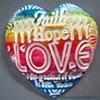 FAITH HOPE LOVE RAINBOW HAND FULL OF LOVE HEART