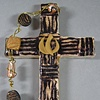 THE SPIRIT IN MOTION COLLAGE CROSS BLACK & GOLD