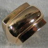 R26 DOME RING TOP VIEW 14K