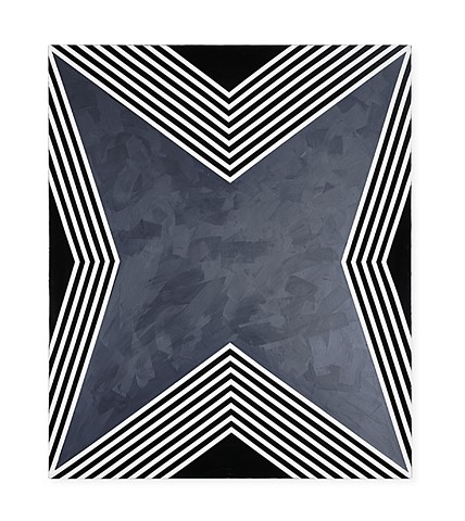 UNTITLED STAR (B&W), canvas I
