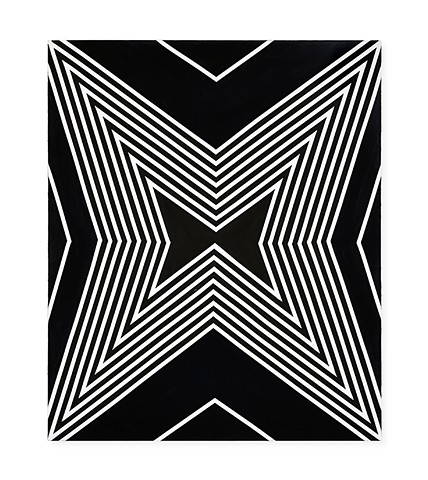 UNTITLED STAR (B&W), canvas II