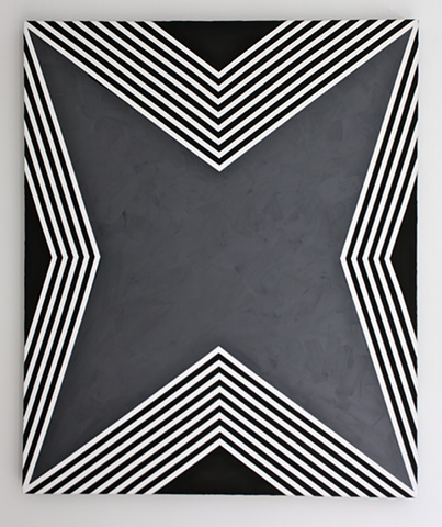 GEOMETRIC CONSTELLATIONS  Untitled Star / B&W I