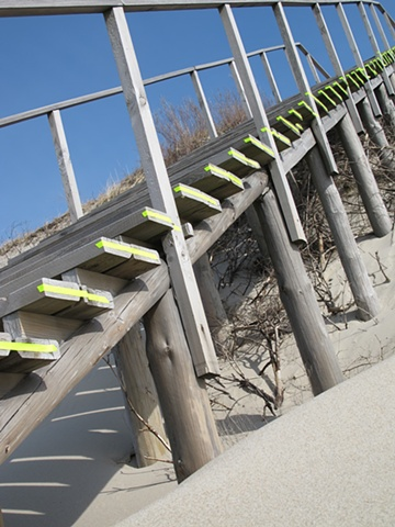 SEASIDE / STRIPED STAIRS