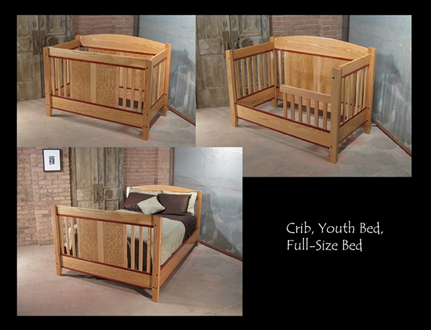 Crib/Youth Bed/Full-Size Bed