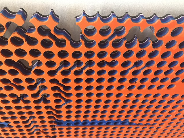 Peg Board (detail)