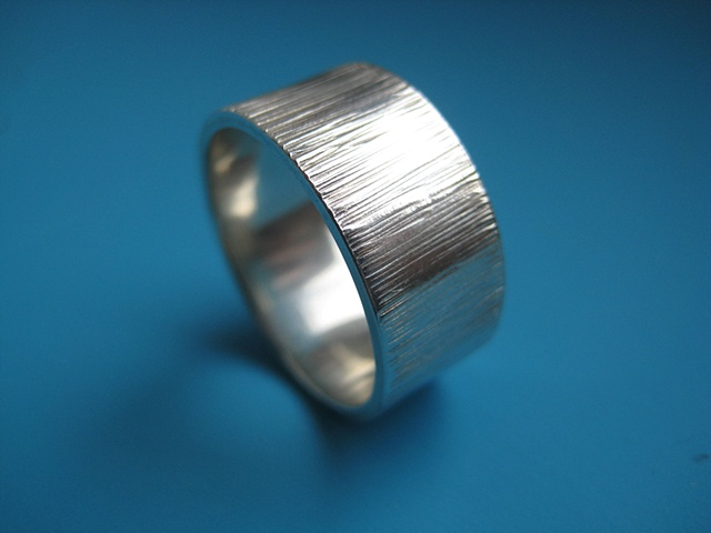 Cog Wedding Band - Mens