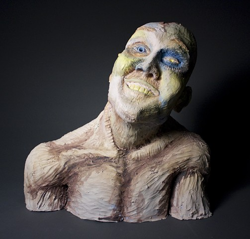 Jesse Seim, Self Portrait, view 1