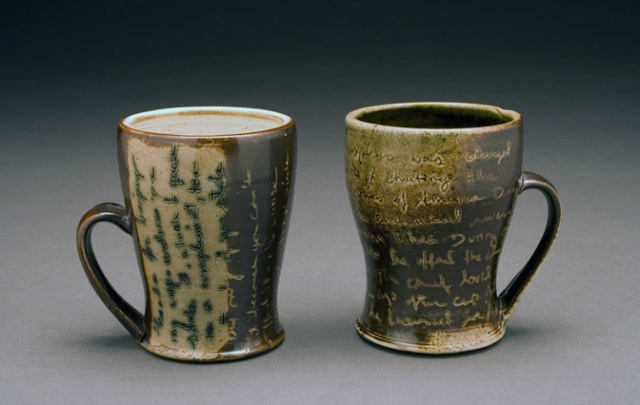 Cups with Text