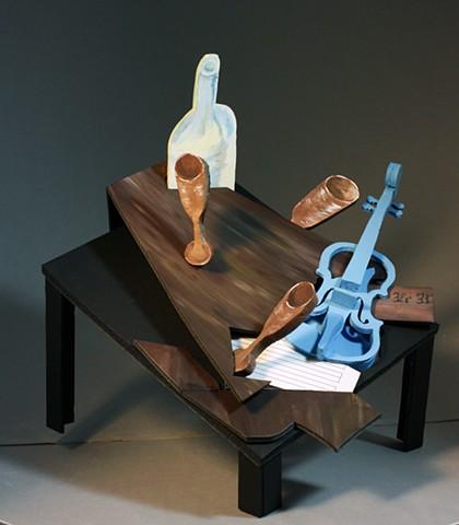Rachel Plyler - Cubist Construction Project