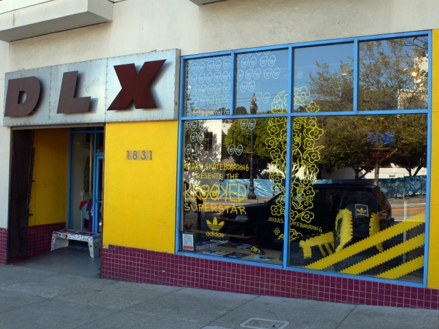 Detail, DLX Skate Shop Project (exterior)