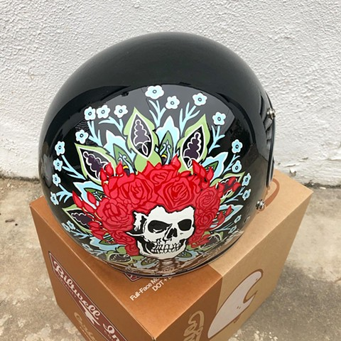Grateful Dead helmet