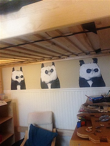 Commission for residential, Angry Pandas | San Francisco, CA