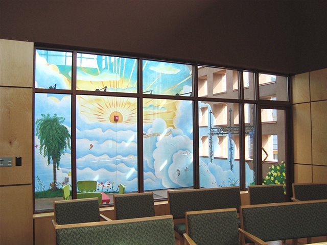Detail, First Congregational Church Mural