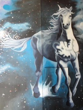 Detail, Stone Pony Mural