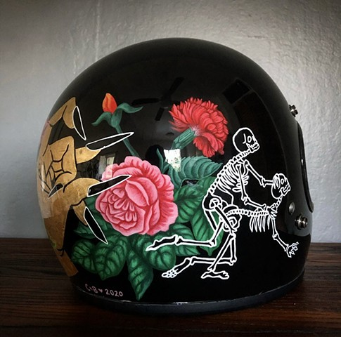 SF Love helmet