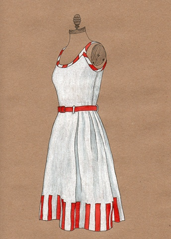 Dress #14 Scent of Strawberries Dress