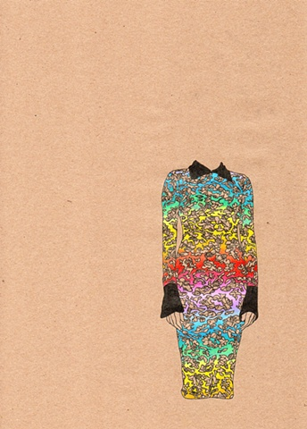 Dress #28 Rainbow Lace Dress