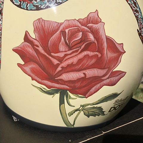 """Cross My Heart"" helmet, rose"