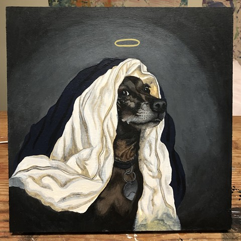 Pet portrait, Mr.Duke