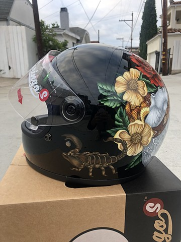 Cold Blood Love helmet