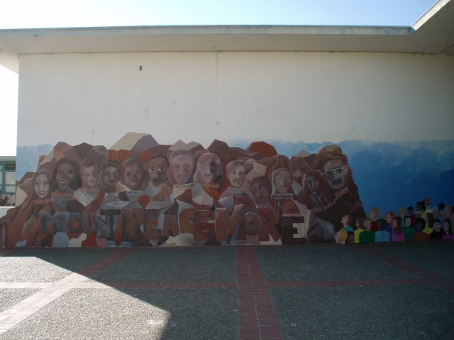 Mt. Peacemore Mural
