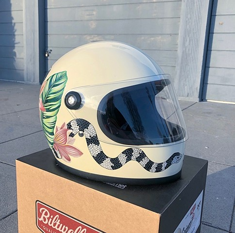 Eye of the Tiger helmet