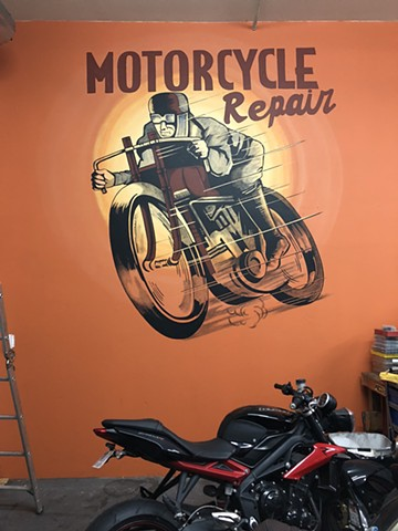 Commission for Torque Spec Garage | San Diego, CA