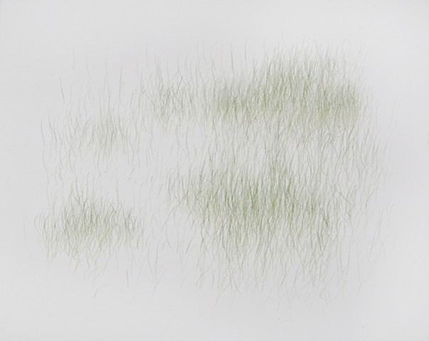 Joanne Aono, Green Fields, drawing, Hiroshima
