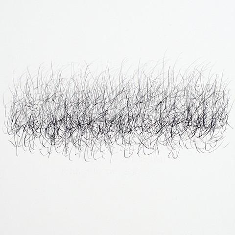 Joanne Aono Hashi Twin Graphite Drawing