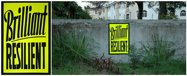Brilliant Resilient   Dominican Republic Sign Lyrics Series: Improvisations with Peter Beaugard  and Craig Signs