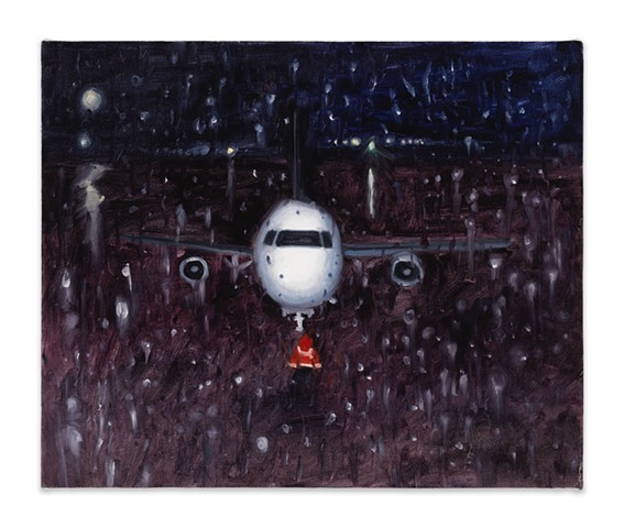 Gwendolyn Zabicki, Gwen Zabicki, painter, artist, Chicago, paintings, rainy flight