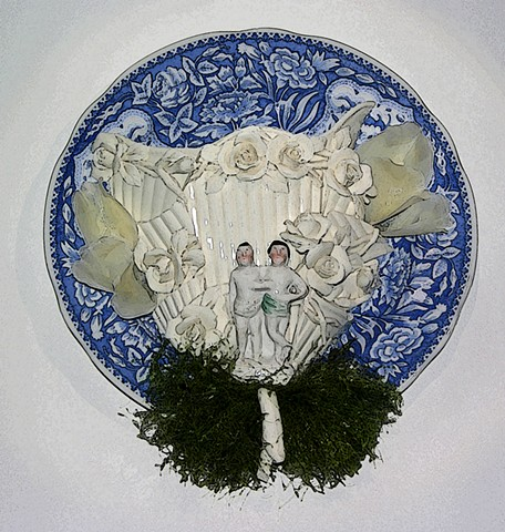 """Marriage Plate"""