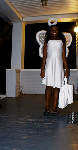 Halloween angel