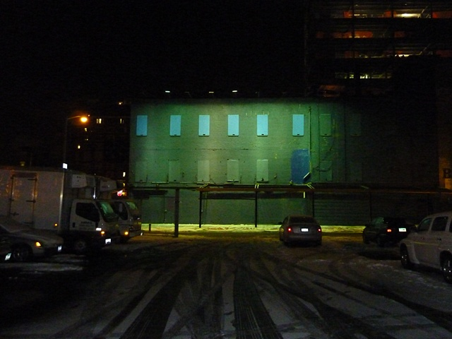 cold storage, West 13th Street in the snow