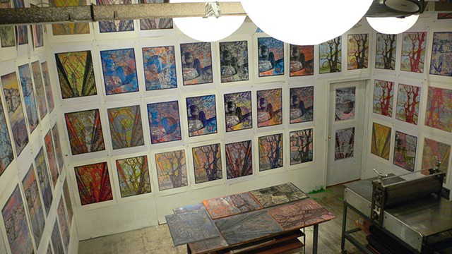 Studio and Exhibitions
