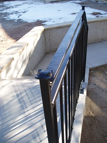 Exterior Rail / Fort Collins, CO.